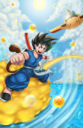 Dragon Ball by Ryusoko