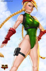 Cammy - Street Fighter V by Ryusoko