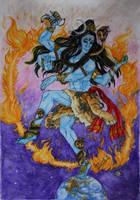 Shiva Nataraja by David-LaCroix