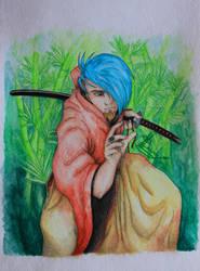 As samurai by David-LaCroix