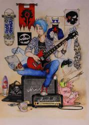 My strange meet the artist by David-LaCroix
