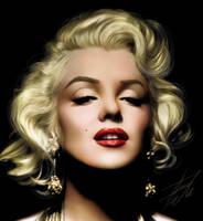 Marilyn Monroe by youtuneo