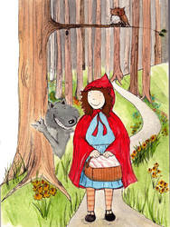 Little Red Riding Hood by charchar1001