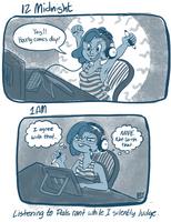 2015 Hourly Comics Day-01 by kozispoon