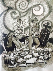 Spooky Face Swap by kozispoon