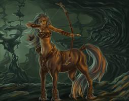 Centaur by Asgerd-art