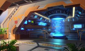 CA interior by Asgerd-art