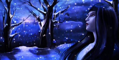 Frozen Tears by Chrishankhah