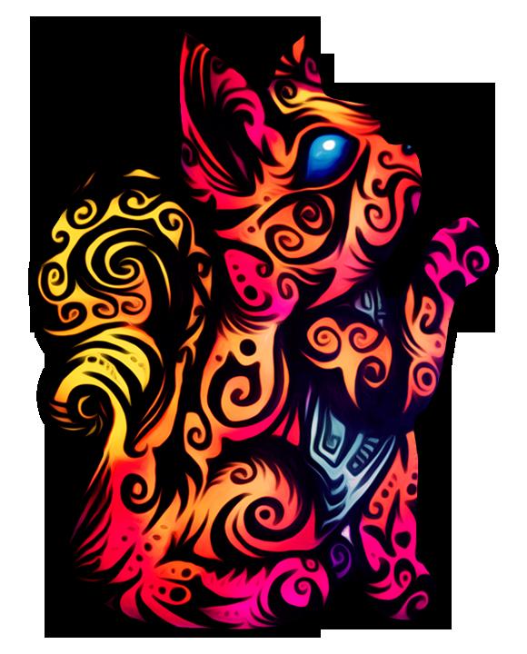 Tribal Vulpix by Chrishankhah