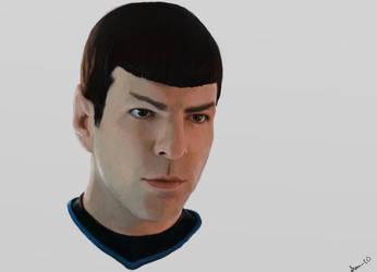 Spock by FairyDandy