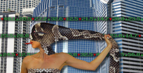 Wall Street Snake - The Stockbroker by Nolamom3507