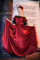 Scarlet Enchantment by LadyDelwynne