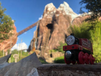 Rosie at Expedition Everest by 736berkshire