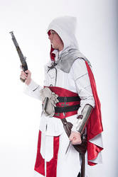 Assassins Creed: Brotherhood. Ezio outfit by AuditoreEagle