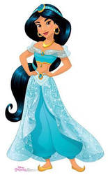 Jasmine My Favorite Princess by Curehappy2345