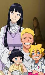 Naruto and his Family by Curehappy2345
