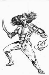 persian type warrior guy by Alfonzzz105