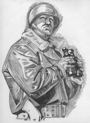 Gral. Patton by Alfonzzz105