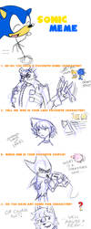 Sonic Meme of Boredom by CrimsonDarkwolfe