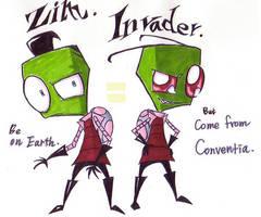 Invader Zim by hanna-Aris