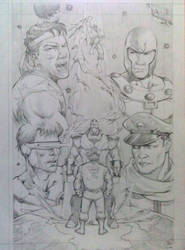 X Men Vs Street Fighter by sultandinegeriorang