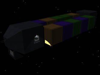 GalSpan Class Two Freighter by xveers