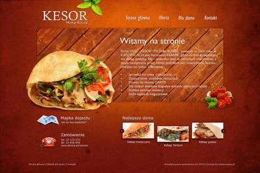 Kebab company layout by rozmin