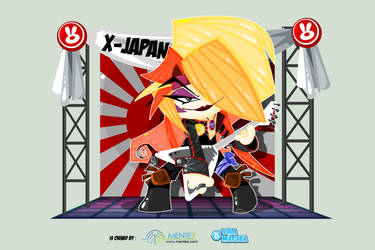X-Japan 2 by vancamelot