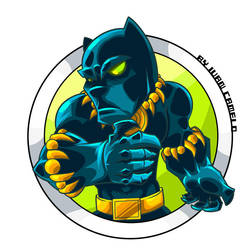 Black Panther!!! by vancamelot