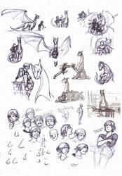 Le Sketchdump by AD-Ink