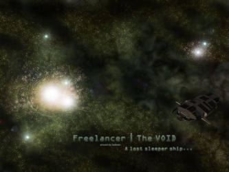 A lost sleeper ship by Sadman-New-Order