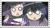 Yue and Nodoka Stamp by mdpshow