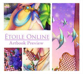 Etoile Online Charity Artbook preview 2 by Fortranica