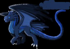 Dragon OC: Airana Stormrider by auveiss
