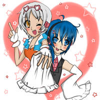 Dreako and Daisuke by kawaiibubbleschan