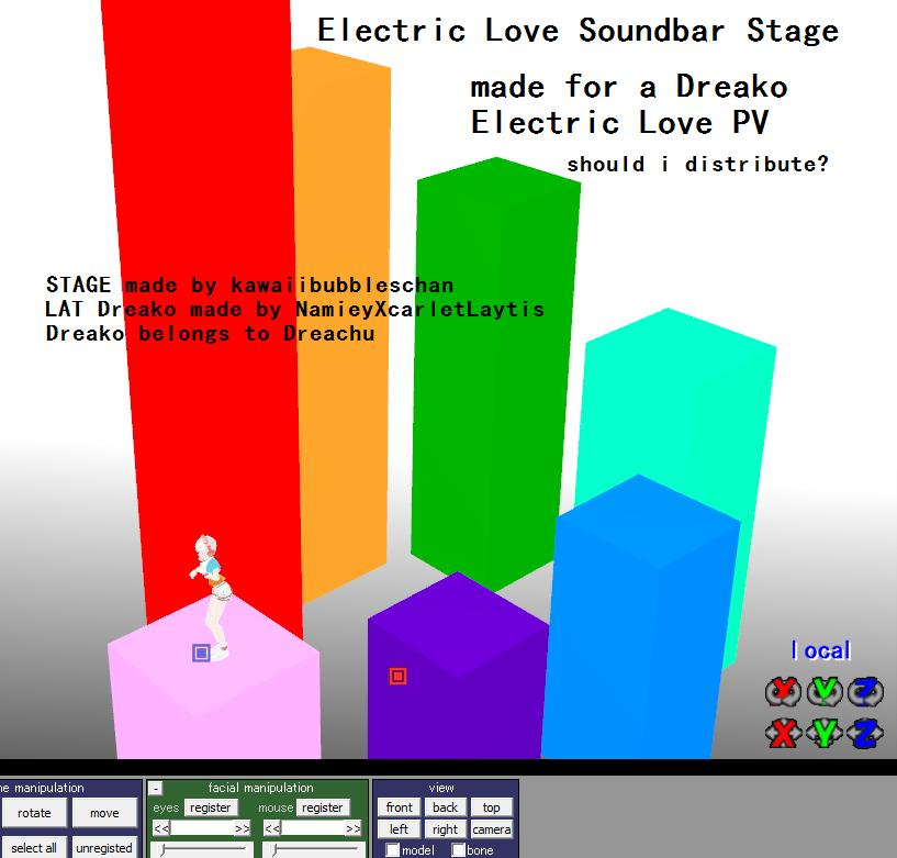 Electric Love Stage -DL links by kawaiibubbleschan