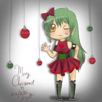 SS: Merry Christmas ADHGIRL by kawaiibubbleschan