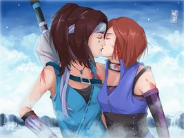 Kiss by AkinaSilver