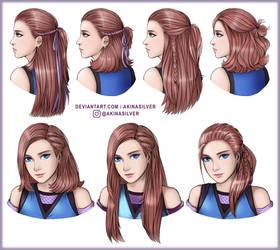 Akina hairstyle19 by AkinaSilver