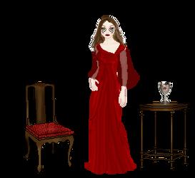Lady in Red by Ceridweyn