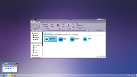 Windows 8 redesigned | Explorer Concept by Softboxindia