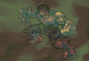 Hulk by LucaTieri