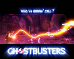 Ray Stantz Proton stream by ghostbustersunited