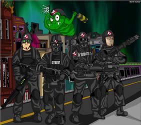 Who Ya Gonna Call ? by ghostbustersunited