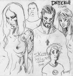 DRECKIG Skizze by Millus