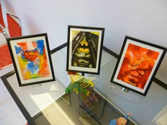 Superman Batman Flash by Millus