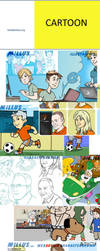 STYLE - some cartoon styles by Millus