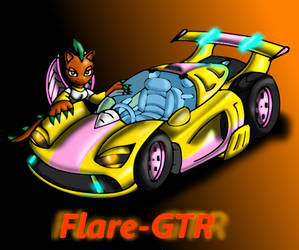 New 2010 Flare GTR by Ionic44