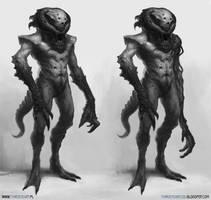 Alien by thirdeyepl