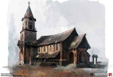 Syberia - Church by thirdeyepl